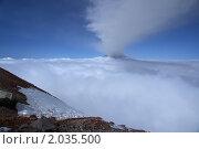 Корякский вулкан, Камчатка. Стоковое фото, фотограф Андрей Михайлов / Фотобанк Лори