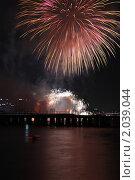 Купить «Фестиваль фейерверков 2010. Сеул.», эксклюзивное фото № 2039044, снято 9 октября 2010 г. (c) Ольга Липунова / Фотобанк Лори