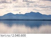 Купить «Горное озеро в Австрии», фото № 2040600, снято 20 августа 2010 г. (c) Nickolay Khoroshkov / Фотобанк Лори