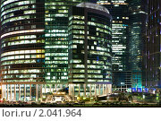Купить «Москва-Сити - Московский международный деловой центр», фото № 2041964, снято 6 октября 2010 г. (c) Михаил Ковалев / Фотобанк Лори