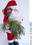 Купить «Санта Клаус», фото № 2042280, снято 7 октября 2010 г. (c) Макарова Елена / Фотобанк Лори