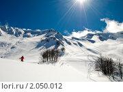 Купить «Красная Поляна, хребет Аибга», фото № 2050012, снято 20 марта 2010 г. (c) Игорь Р / Фотобанк Лори