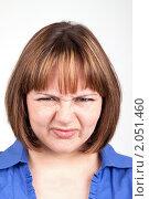 Девушка с выражением отвращения на лице. Стоковое фото, фотограф Ирина Смирнова / Фотобанк Лори