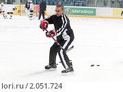 Купить «Мастер - класс легенд мирового хоккея в Балашихе», эксклюзивное фото № 2051724, снято 13 октября 2010 г. (c) Дмитрий Неумоин / Фотобанк Лори