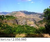 Ущелье в районе Гарни, Армения (2010 год). Стоковое фото, фотограф Татьяна Крамаревская / Фотобанк Лори