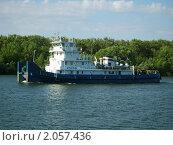 Купить «Буксир ОТА-931», фото № 2057436, снято 11 июня 2007 г. (c) Кургузкин Константин Владимирович / Фотобанк Лори