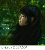 Купить «Лесной эльф», иллюстрация № 2057504 (c) Tamara Kulikova / Фотобанк Лори