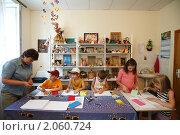 """Купить «Балашиха, детский центр """"Росинка""""», эксклюзивное фото № 2060724, снято 12 августа 2010 г. (c) Дмитрий Неумоин / Фотобанк Лори"""