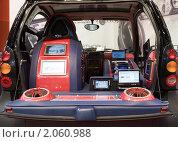 Купить «Внутри Smart больше чем снаружи?», фото № 2060988, снято 29 августа 2007 г. (c) Ольга Денисова / Фотобанк Лори