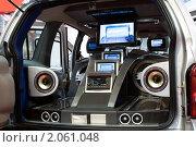 Купить «Демо-автомобиль фирмы Prology», фото № 2061048, снято 29 августа 2007 г. (c) Ольга Денисова / Фотобанк Лори