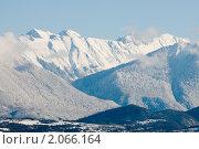 Купить «Первый снег в горах.Абхазия.», фото № 2066164, снято 27 января 2010 г. (c) Елена Писклова / Фотобанк Лори