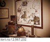Ледокол Красин, морские приборы (2009 год). Редакционное фото, фотограф Алексей Измайлов / Фотобанк Лори