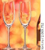 Купить «Пустые бокалы», фото № 2069752, снято 11 октября 2010 г. (c) yarruta / Фотобанк Лори