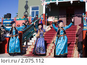Бурятский национальный танец (2010 год). Редакционное фото, фотограф Евгений Кузьмин / Фотобанк Лори