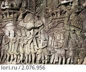 Камбоджа. Настенные рисунки в Ангкоре. (2009 год). Стоковое фото, фотограф Светлана Степачёва / Фотобанк Лори