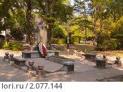 Могила Поддубного И.М. в городе Ейске (2010 год). Редакционное фото, фотограф Алексей Петров / Фотобанк Лори