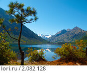 Купить «Алтай. Озеро Нижнее Мультинское», фото № 2082128, снято 21 августа 2010 г. (c) Andrey M / Фотобанк Лори