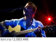 Сольный концерт Ильи Черта (2010 год). Редакционное фото, фотограф Анна Назарова / Фотобанк Лори