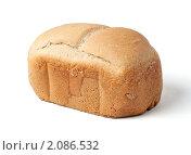 Хлеб изолированный на белом фоне. Стоковое фото, фотограф Буханцов Алексей / Фотобанк Лори