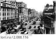 Купить «Улица Кингсуэй (Kingsway) в Лондоне. Англия», фото № 2088116, снято 14 декабря 2018 г. (c) Юрий Кобзев / Фотобанк Лори