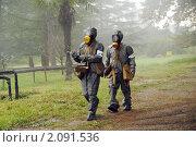 Купить «Химическая разведка в зоне поражения», фото № 2091536, снято 28 октября 2010 г. (c) Анна Мартынова / Фотобанк Лори