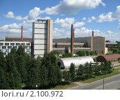 Купить «Ижорский завод.Колпино», фото № 2100972, снято 21 июля 2010 г. (c) Алексей Алексеев / Фотобанк Лори