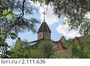 Купить «Голгофа — церковь евангельских баптистов в Бибирево. Фрагмент», фото № 2111636, снято 1 сентября 2009 г. (c) Алёшина Оксана / Фотобанк Лори