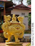 Купить «Золотой дракон», эксклюзивное фото № 2111996, снято 26 октября 2010 г. (c) Яна Королёва / Фотобанк Лори