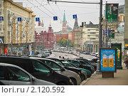 Купить «Вид на Кремль с Тверской улицы», эксклюзивное фото № 2120592, снято 24 октября 2009 г. (c) Алёшина Оксана / Фотобанк Лори