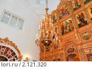 Купить «Паникадило в православном храме», эксклюзивное фото № 2121320, снято 4 июня 2009 г. (c) Алёшина Оксана / Фотобанк Лори