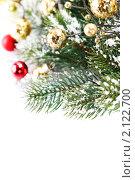 Купить «Новогодний фон», фото № 2122700, снято 26 октября 2010 г. (c) Наталия Кленова / Фотобанк Лори