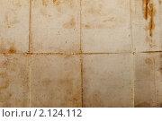 Фон или фактура из старой перегнутой выцветшей бумаги. Стоковое фото, фотограф Илья Андриянов / Фотобанк Лори