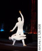 Купить «Выступление мимов акробатов», эксклюзивное фото № 2126608, снято 6 июня 2010 г. (c) Володина Ольга / Фотобанк Лори