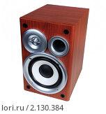 Купить «Музыкальная звуковая колонка», эксклюзивное фото № 2130384, снято 6 ноября 2010 г. (c) Юрий Морозов / Фотобанк Лори