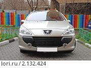 """Купить «Автомобиль """"PEUGEOT (Франция)"""". Модель 307 SW», эксклюзивное фото № 2132424, снято 9 ноября 2010 г. (c) lana1501 / Фотобанк Лори"""