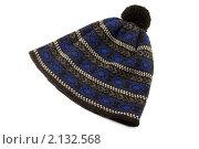 Купить «Шапка вязаная с орнаментом», фото № 2132568, снято 9 ноября 2010 г. (c) Дмитрий Грушин / Фотобанк Лори
