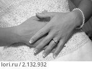 Купить «Волнение перед венчанием. Свадьба.», фото № 2132932, снято 9 мая 2009 г. (c) EXG / Фотобанк Лори