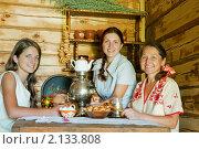 Купить «Чаепитие в сельской избе», фото № 2133808, снято 10 июля 2010 г. (c) Яков Филимонов / Фотобанк Лори