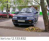 """Купить «Автомобиль """"SSANG YONG (Корея)""""», эксклюзивное фото № 2133832, снято 1 октября 2010 г. (c) lana1501 / Фотобанк Лори"""