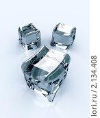 Купить «Кубики льда», иллюстрация № 2134408 (c) Сергей Куров / Фотобанк Лори