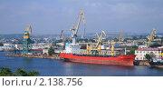 Торговый порт в Севастополе (2008 год). Редакционное фото, фотограф Мария Васильева / Фотобанк Лори