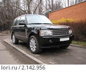 Купить «Автомобиль Land Rover (Великобритания). Модель SuperChargeo», эксклюзивное фото № 2142956, снято 16 ноября 2010 г. (c) lana1501 / Фотобанк Лори