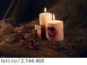 Купить «Свечи», фото № 2144468, снято 12 ноября 2010 г. (c) Ирина Литвин / Фотобанк Лори