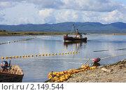 Купить «Промысел горбуши на Сахалине», фото № 2149544, снято 17 сентября 2009 г. (c) Пьянков Александр / Фотобанк Лори