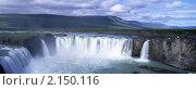 Водопад Godafoss Исландия. Стоковое фото, фотограф Leksele / Фотобанк Лори