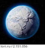 Купить «Заснеженная Земля», иллюстрация № 2151056 (c) Антон Балаж / Фотобанк Лори