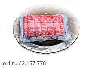 Купить «Крабовые палочки в упаковке», фото № 2157776, снято 23 ноября 2010 г. (c) Куликова Вероника / Фотобанк Лори