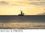 Корабль. Стоковое фото, фотограф Дмитрий Ковырялов / Фотобанк Лори