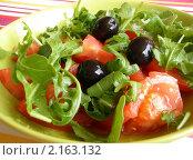 Купить «Зеленый салат», фото № 2163132, снято 6 сентября 2009 г. (c) valentina vasilieva / Фотобанк Лори