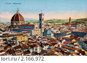 Купить «Панорама Флоренции с кафедральным собором Санта-Мария-дель-Фьоре. Италия», фото № 2166972, снято 23 января 2019 г. (c) Юрий Кобзев / Фотобанк Лори